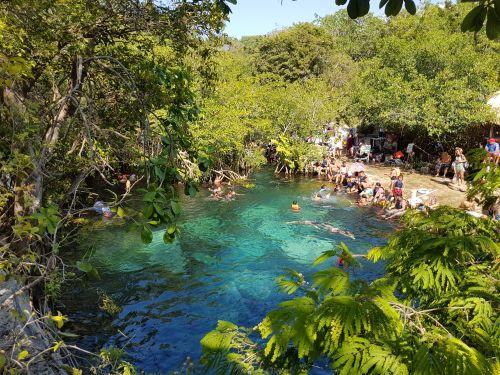 Cenote Cristalino, Playa Del Carmen