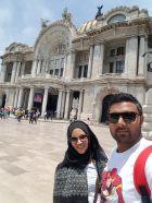 Selfie at De Bellas Artes