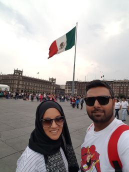 Selfie at Zocalo
