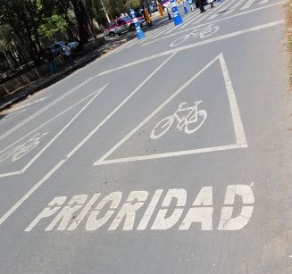 Cyclist priority