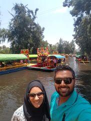 Selfie at Xochimilco