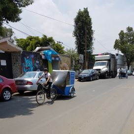 Bicycle taxis, Xochimilco