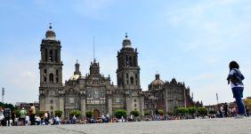 Cathedral at Zocalo - Centro Historico