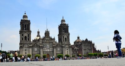 Cathedral at Zocalo - Centro Historico