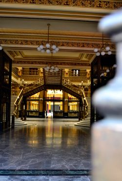 A peek inside the old post office - Centro Historico