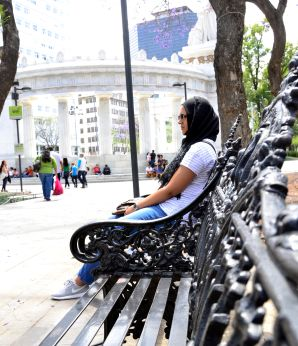 A break in the park - Centro Historico