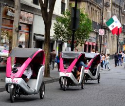 Bicycle taxis - Centro Historico