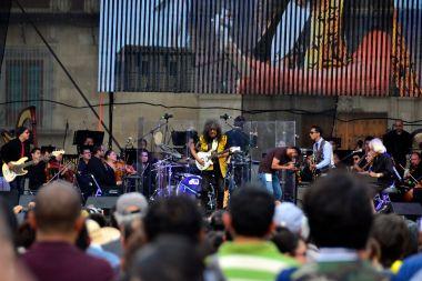 Live Performance - Zocalo, Centro Historico