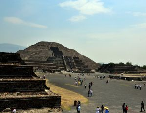 Pyramid of the Moon,Teotihuacan