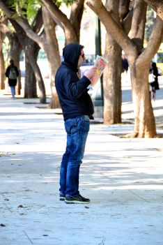 Athens, This man was barking strangely