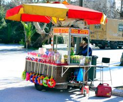 Athens, snack stall