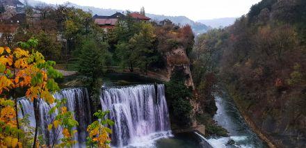 Jajce Waterfalls