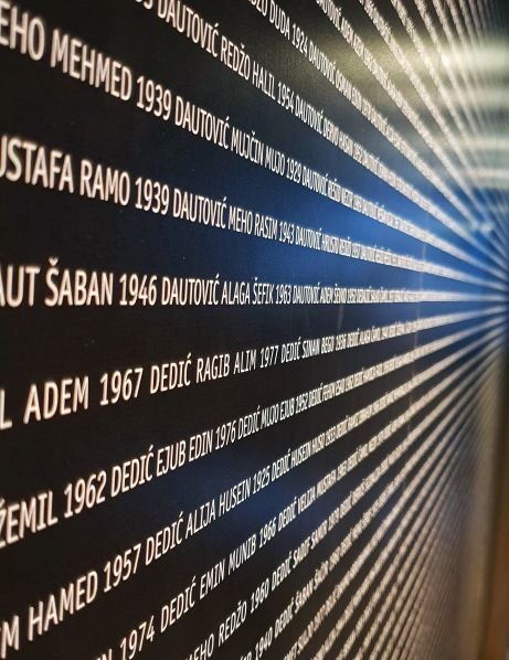 Names of the 8000 Srebrenica Martyrs